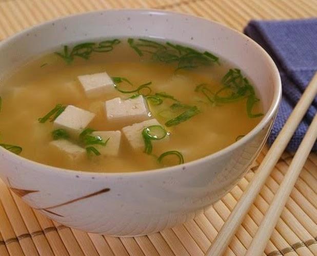 Missoshiru com Tofu (vegana)