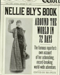 "Nellie published her book ""Around the World in 72 Days"""