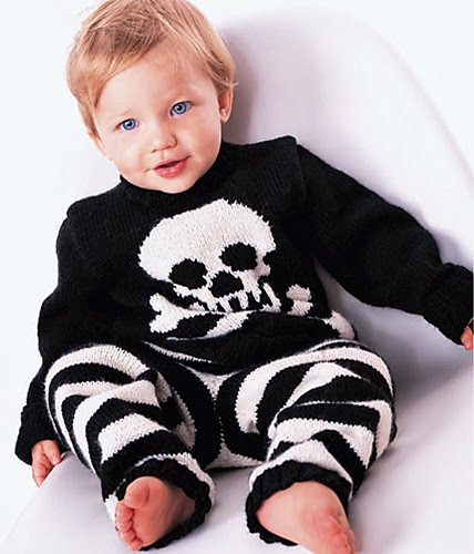 Knitting Pattern Pirate Jumper : The Knitting Needle and the Damage Done: Halloween Knitting for Little Monsters
