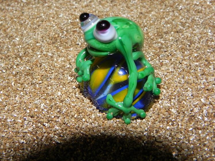 meine erste Froschperle