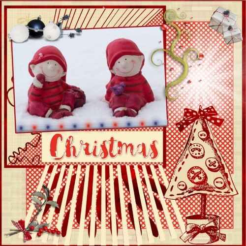 lo 3 - Kerst elfjes