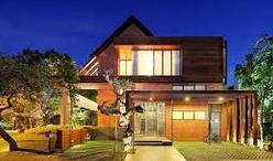 Gambar contoh desain rumah minimalis 2 lantai type 36