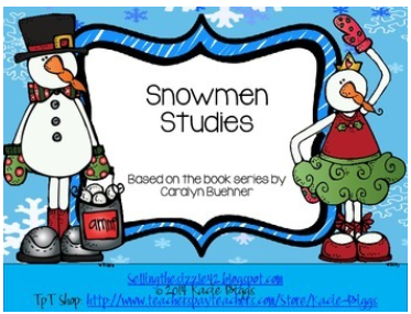 http://www.teacherspayteachers.com/Product/Snowmen-Unit-based-on-the-Snowmen-at-Night-series-by-Caralyn-Buehner-1047244