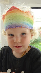 rainbow felt crown tutorial