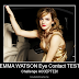 EMMA WATSON EYE CONTACT Test