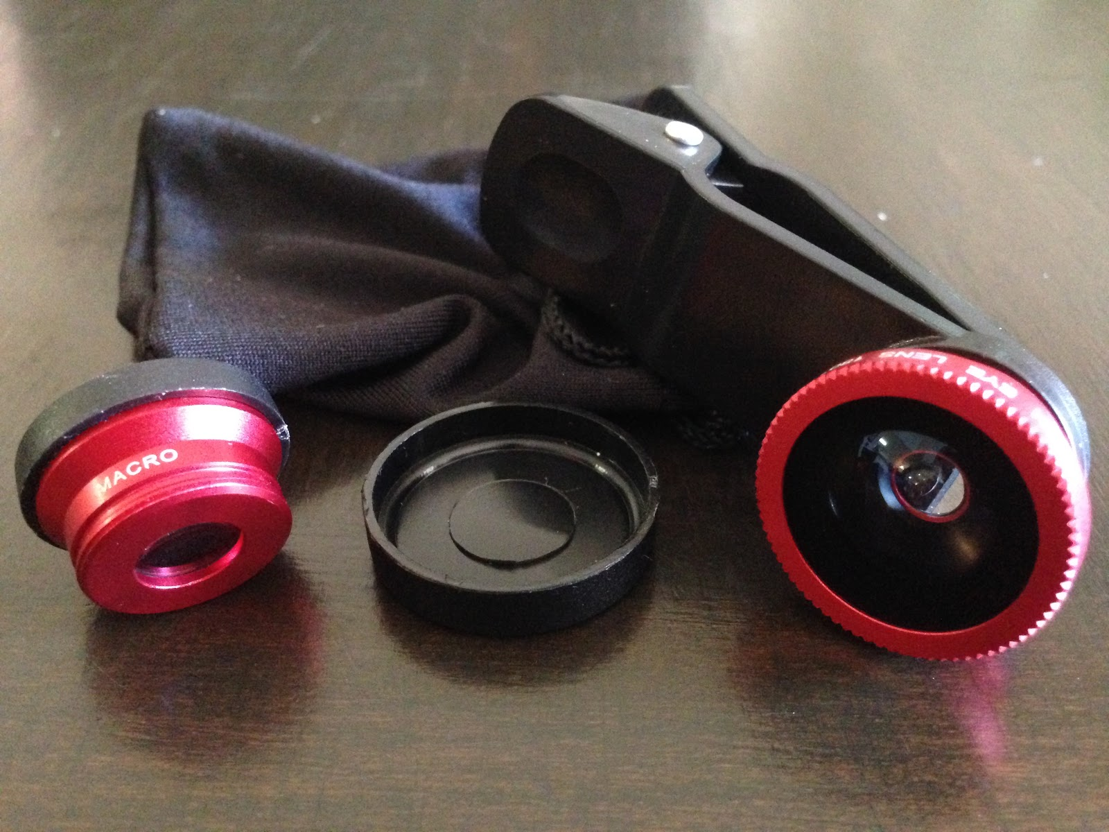 iphone clip on lens kit