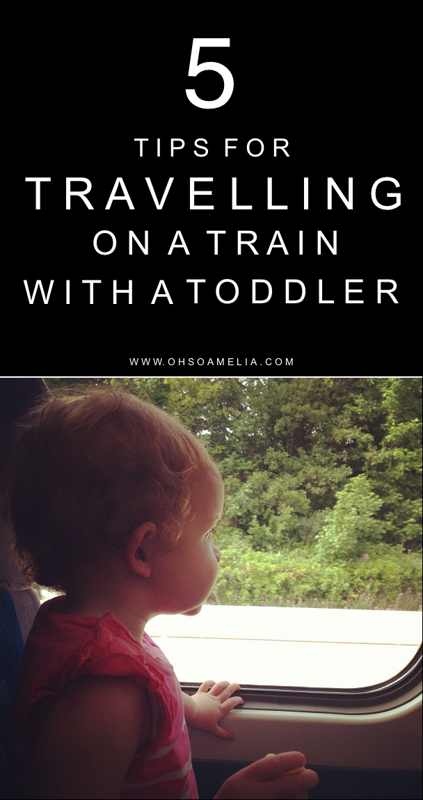 Planning on travelling by train with your toddler? Here are my top 5 Tips for Travelling On A Train With A Toddler to keep you sane!