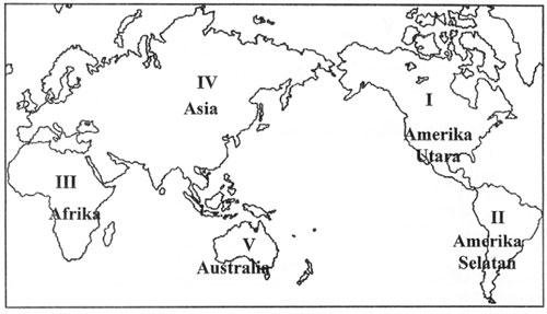 peta pesebaran fauna