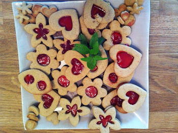 Biscuits made with love.... and Clémentine