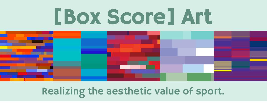 Box Score Art