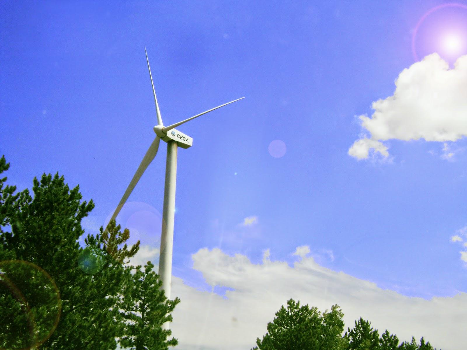 parque eólico, molinillo, energía limpia, ecología
