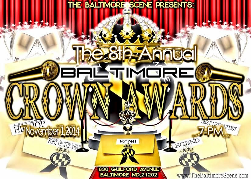 8th Annual Baltimore Crown Awards-SAT NOVEMBER 1st