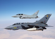Jet Fighter Attack Airplanes Tornado GR4
