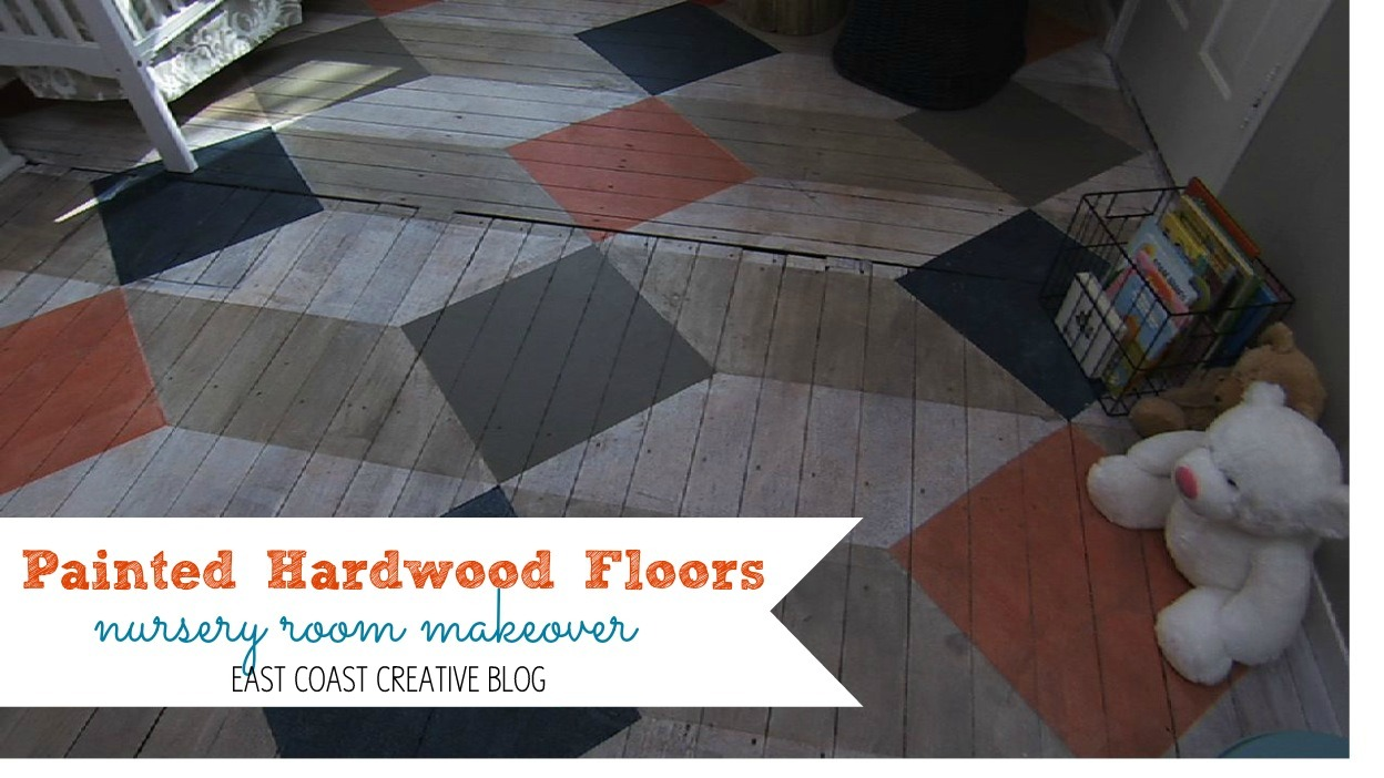 Painted Hardwood Floors Knock It Off Diy Project East