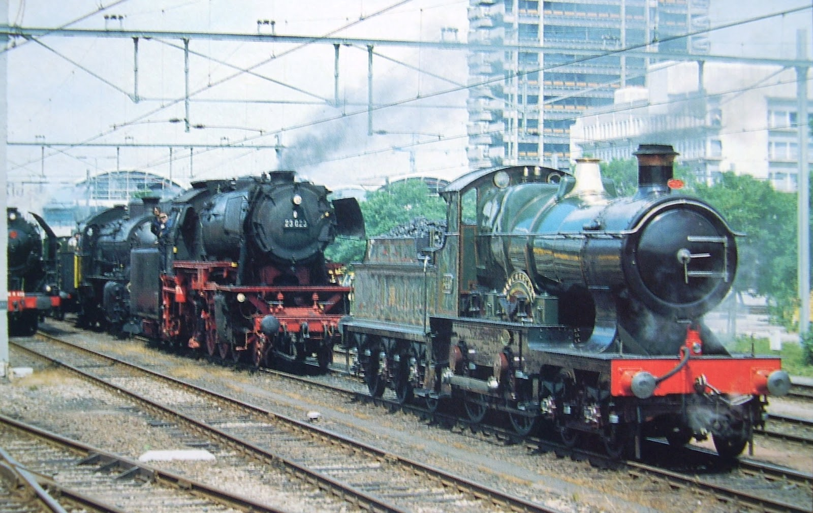 City of Truro at Utrecht | Railway and other Snippets.
