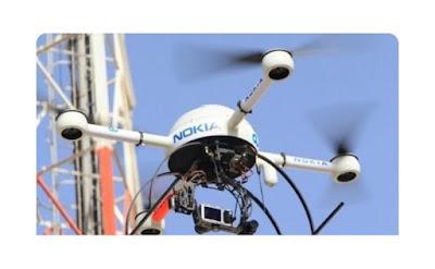 Nokia contrata drones