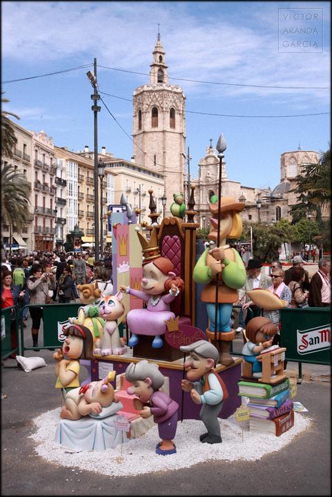 Valencia fallas fotografia 2013