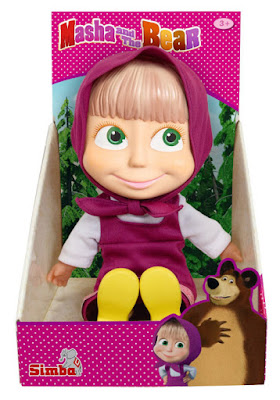 TOYS : JUGUETES - MASHA Y EL OSO - Muñeca 20 cm  Simba 2015 | Serie Television | Comprar en Amazon España