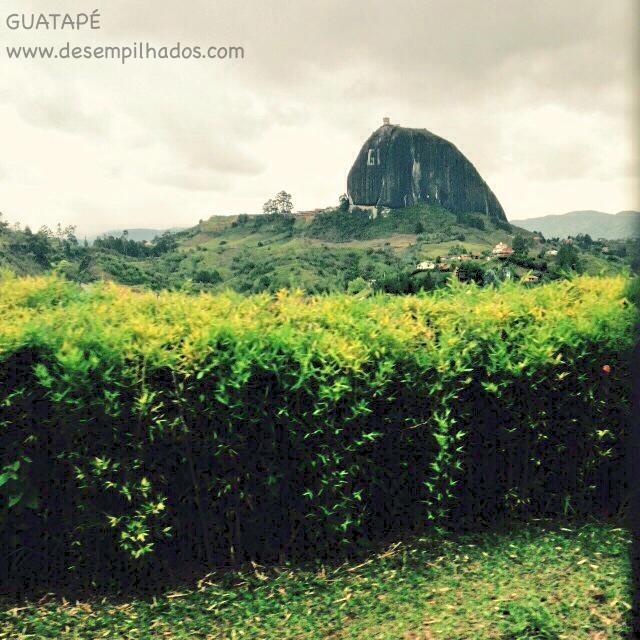 Pedra de Guatape e Peñol na Colombia em viagem de família com filhos roteiro de turismo