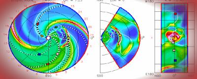 Choque CME, tormenta geomagnética 03 de Septiembre 2012