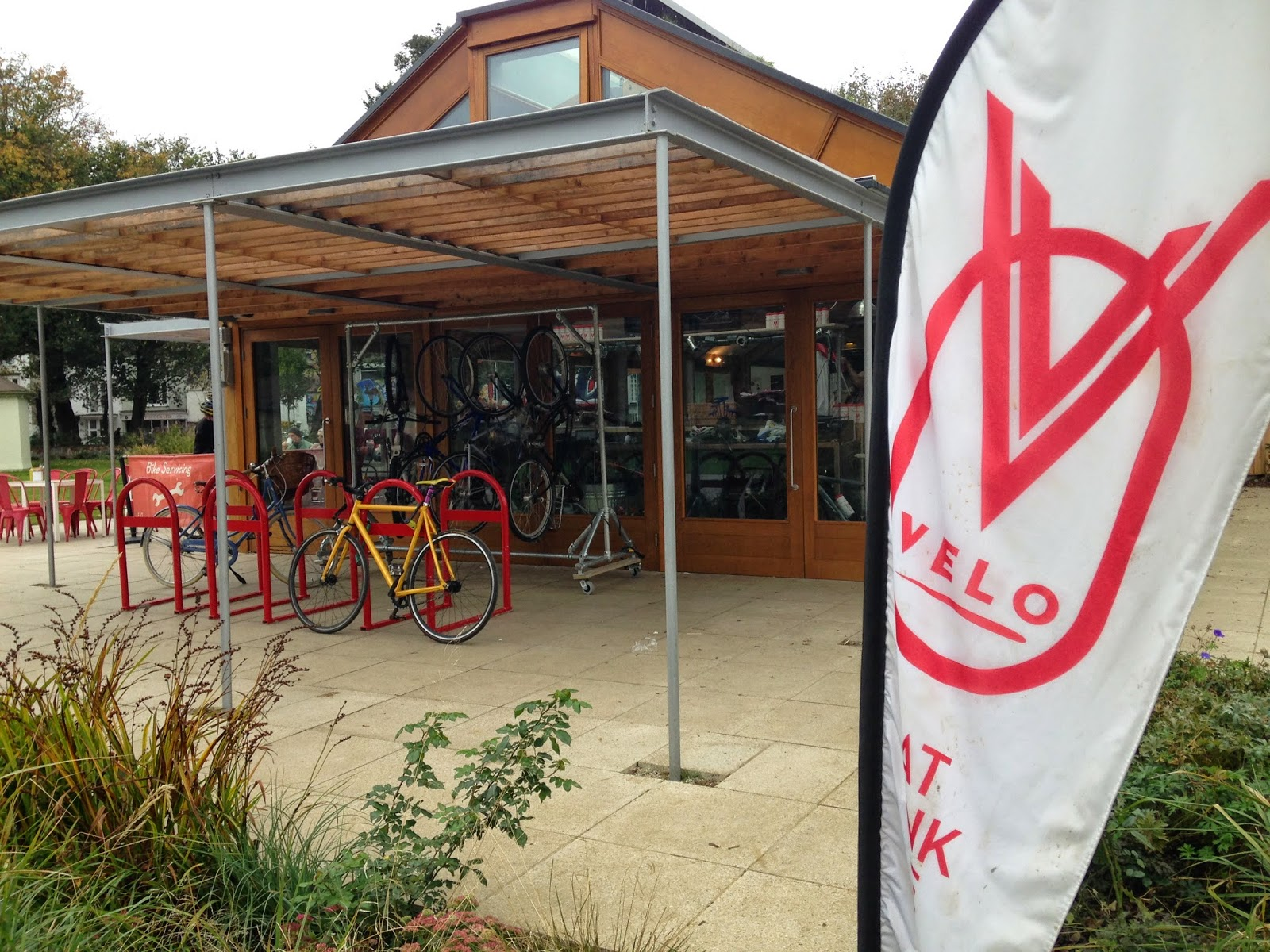 The Velo Cafe, Brighton - cycling