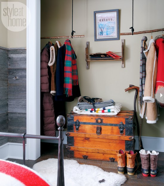 Home Tour A Warm And Cozy Christmas Log Cabin Modern Diy Art