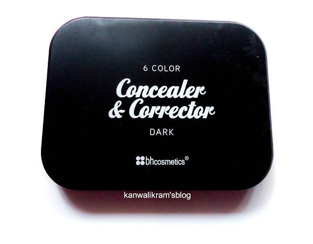 Bh Cosmetics 6 Color Concealer & Corrector Palette