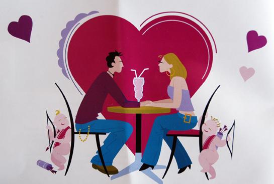 flebosco 3 eso la saint valentin arrive voil des. Black Bedroom Furniture Sets. Home Design Ideas