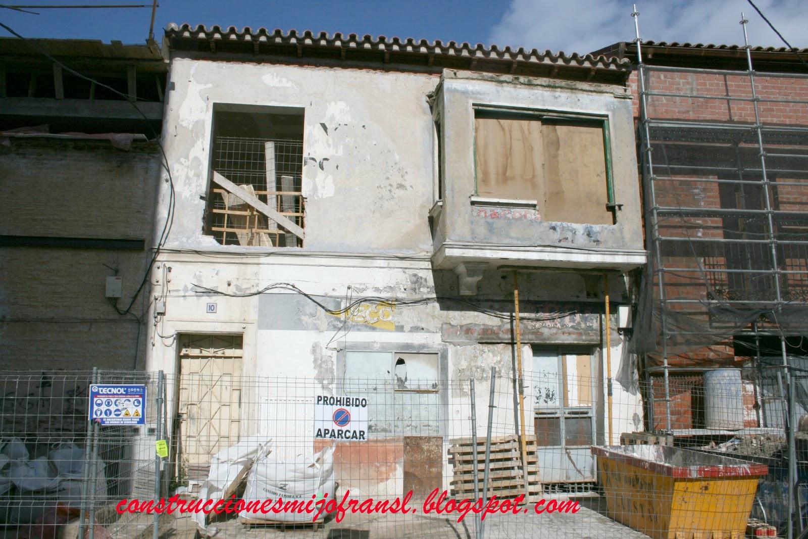 Construcciones mijofran s l rehabilitaci n de vivienda for Casas y cosas