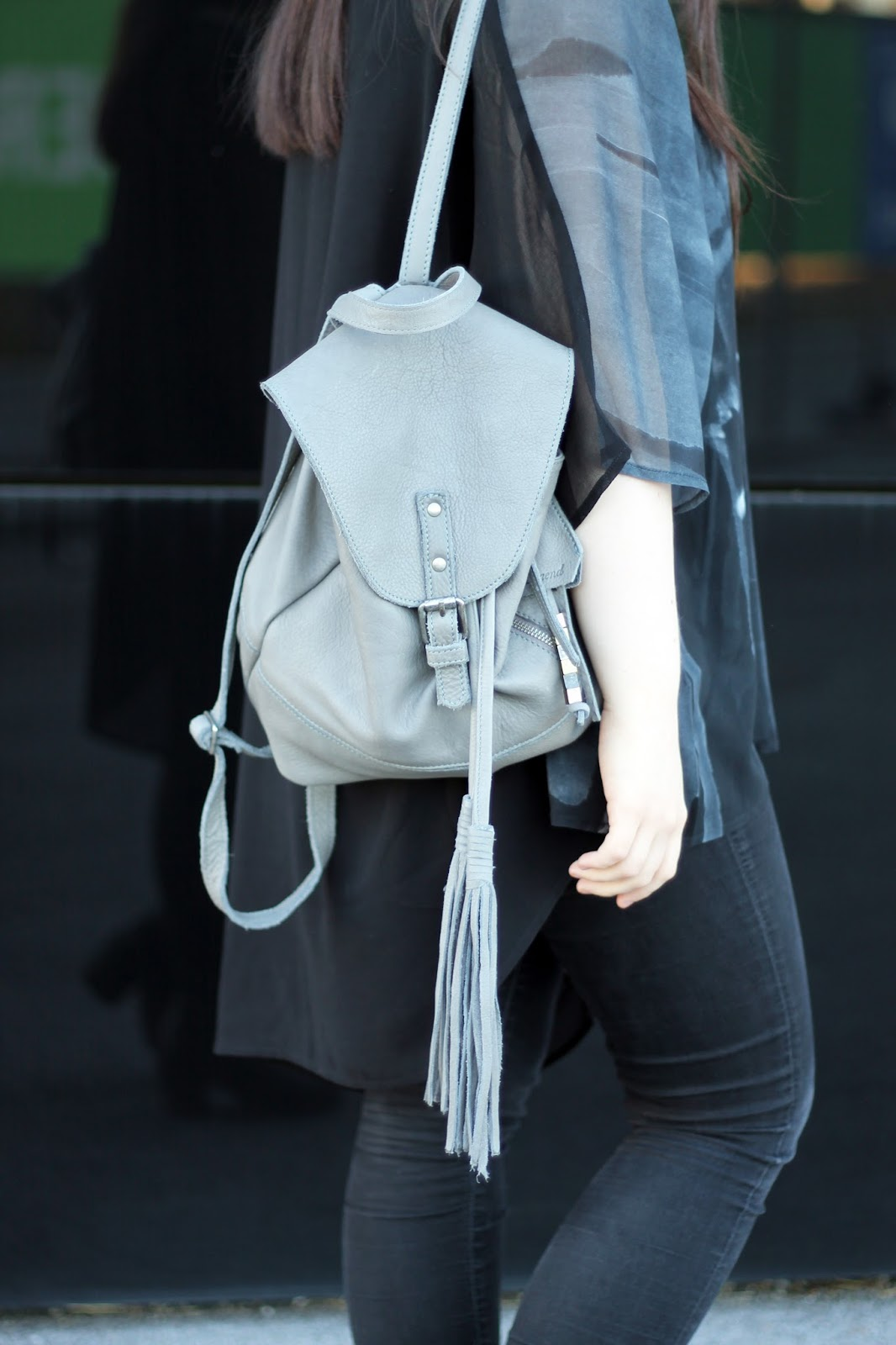 cool grey packback