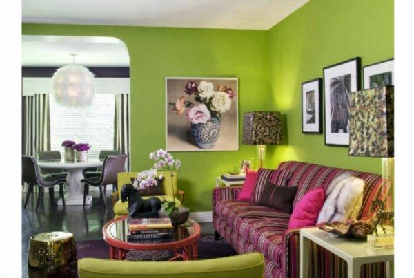 paredes en verde