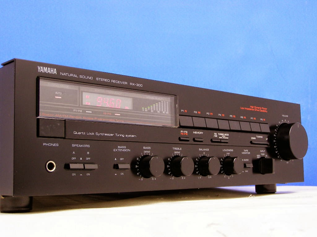Yamaha rx 300 stereo receiver audiobaza for Yamaha stereo reciever