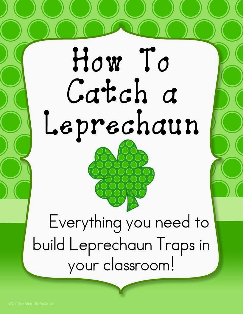 building leprechaun traps the neat and tidy classroom