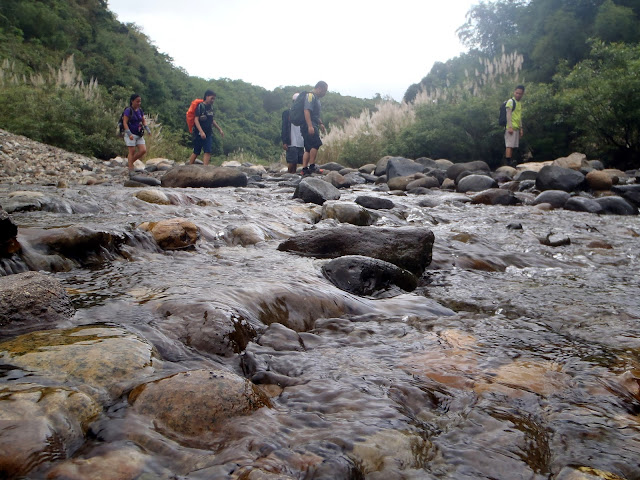 Madlum  river crossing