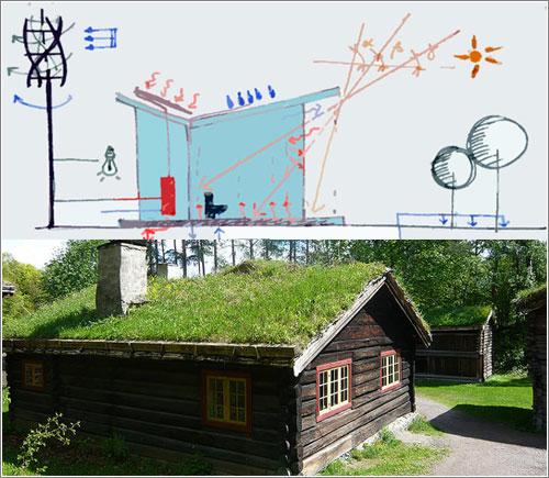 Apuntes espacio tiempo cuaderno de bit cora viviendas - Arquitectura bioclimatica ejemplos ...