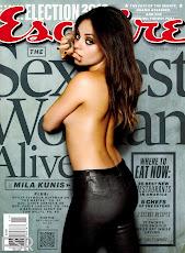 Mila Kunis en Esquire 2012
