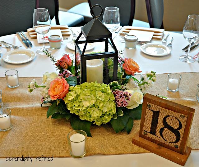 Mason Jar Wedding Reception Ideas: Serendipity Refined Blog: Wonderful Saturday Wedding