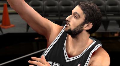 NBA 2K14 Marco Belinelli Face Mod