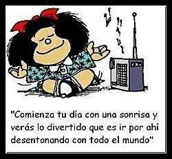 Mafalda y su gran filosofía de vida