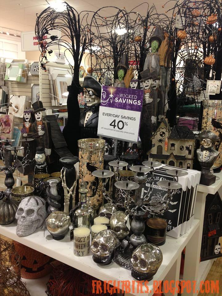 Fright Bites Halloween 2015 Finds At HomeGoods Part 2