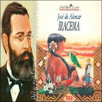 Capa do livro Iracema - Editora Ática - Série Bom Livro - 27.Ed - 1994 e foto de José de Alencar