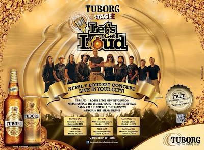 Tuborg Loudest Concert Venue
