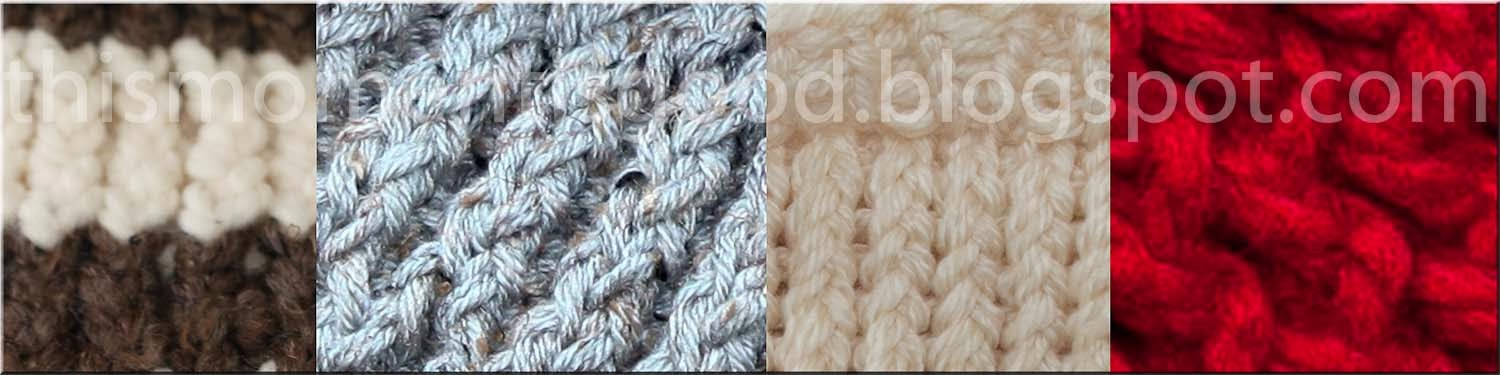 Loom Knitting Stitches Pictures : Loom Knitting by This Moment is Good!: LOOM KNITTING STITCH GUIDE