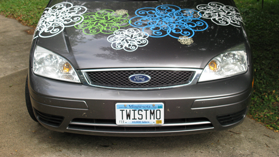 Twistmo Mandala Car