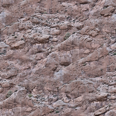 Seamless rock mountain face texture