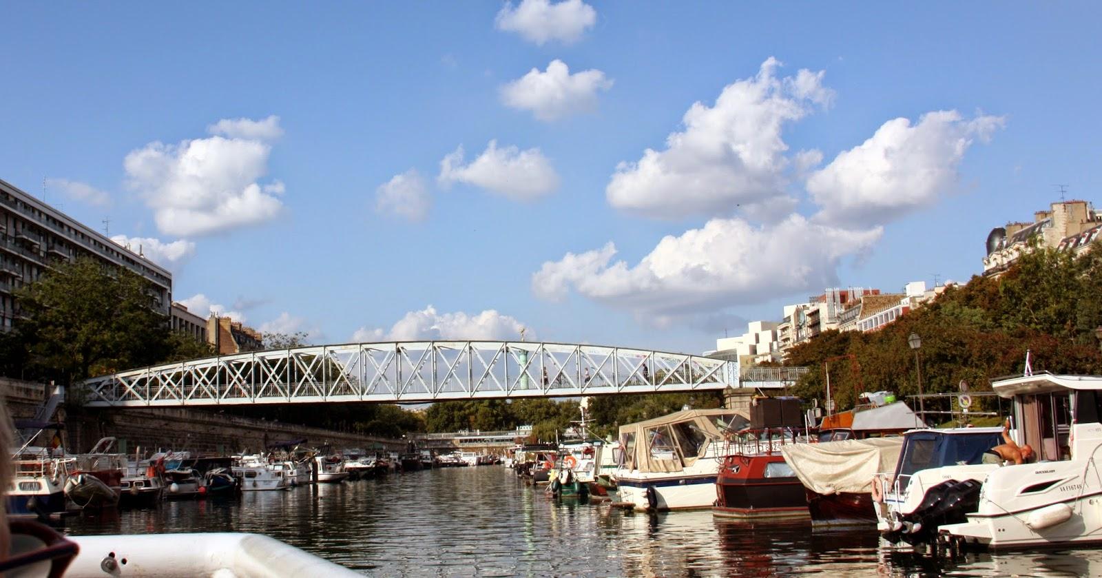 Decouverte croisi res parisiennes suite - 6 route du bassin n 1 port de gennevilliers ...