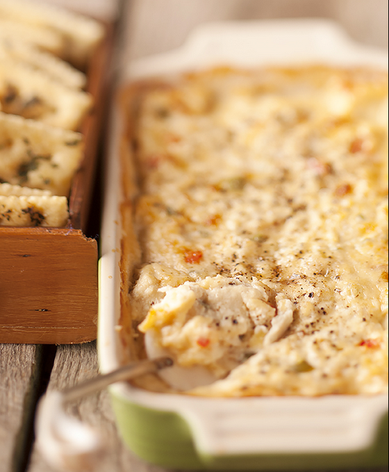 Crab & Horseradish Havarti Dip