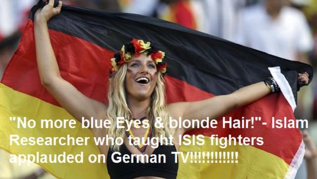 Φοβερή αποκάλυψη και επιβεβαίωση! Μουσουλμανική  έκκληση για τον αφανισμό των ξανθών με γαλανά μάτια!