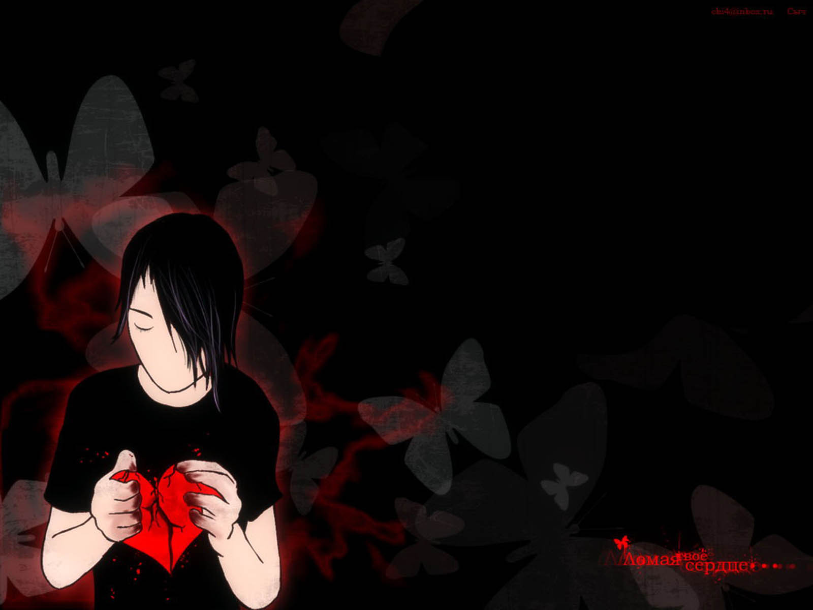 emo anime wallpaper