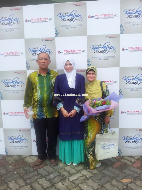 www.ainahmad.com,who is nurul ain,who is nurul ain? nurul ain ahmad,konvo,convocation,convo poli,politeknik,